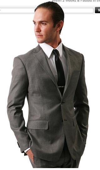 Indochino Metallic Gray Suit-COPPED | Hear Me Roar...